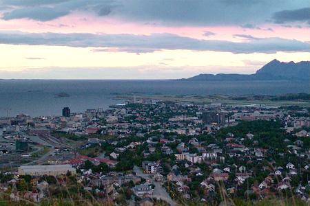 Бодо в Норвегии (Bodo, Norway)