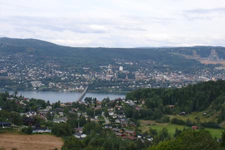 Норвежский город Лиллехаммер (Lillehammer, Norway)