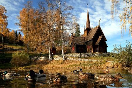 Норвежский Лиллехаммер (Lillehammer, Norway)